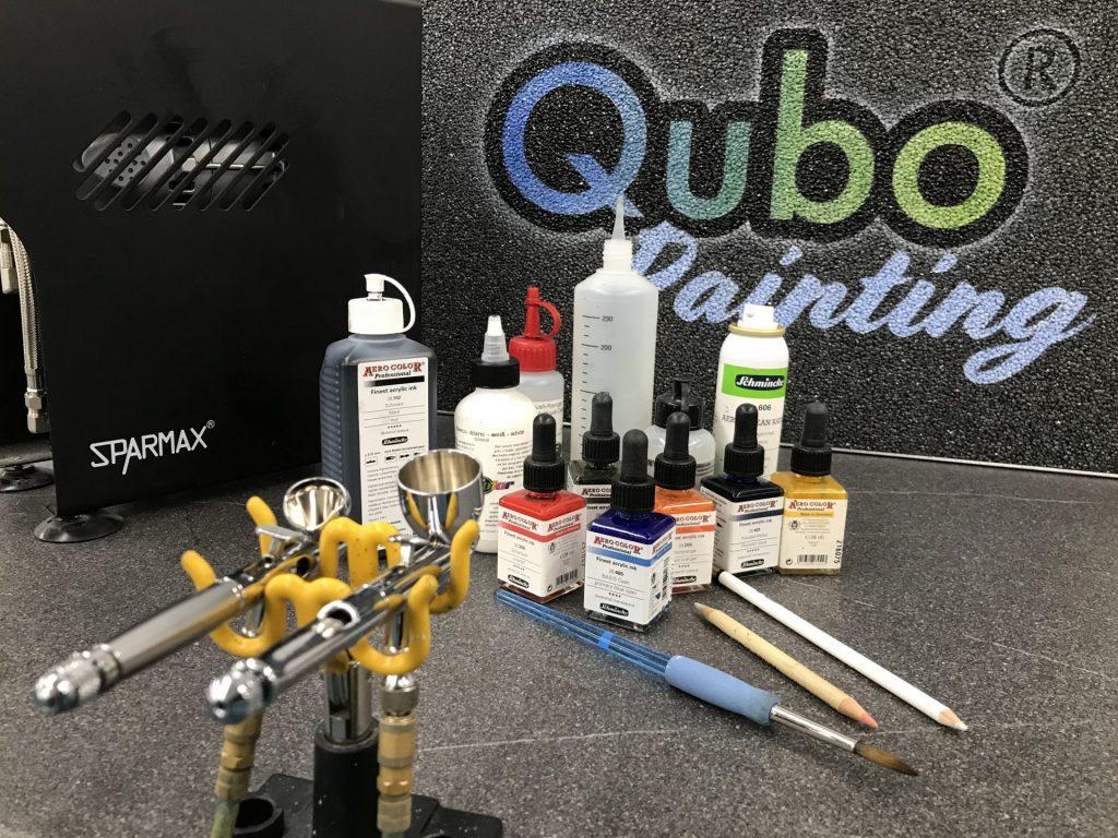 Airbrush Ausrüstung