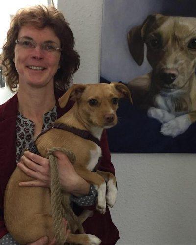 Sandra Zimmermann auf der Animalia
